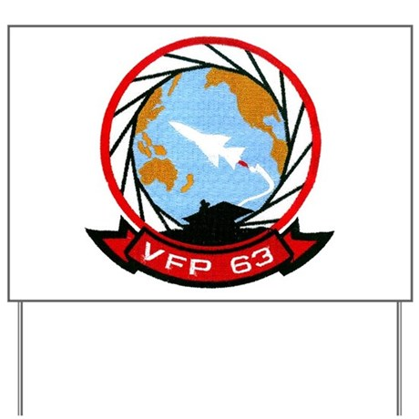VFP 63 Eyes of the Fleet Yard Sign