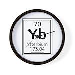 Ytterbium Wall Clock