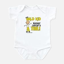 Bald 3 Childhood Cancer (SFT) Infant Bodysuit