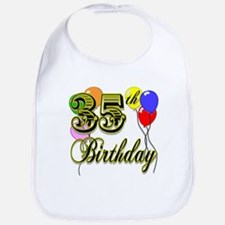 35th Birthday Bib