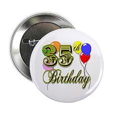 """35th Birthday 2.25"""" Button"""
