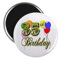 35th Birthday Magnet