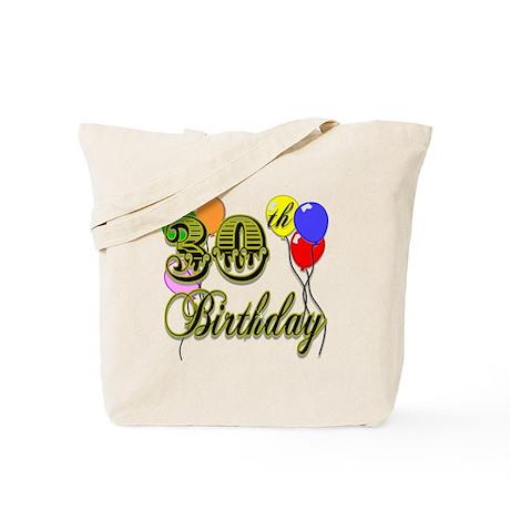 30th Birthday Tote Bag