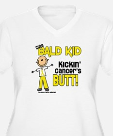 Bald 4 Childhood Cancer (SFT) T-Shirt