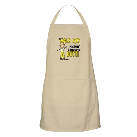 Bald 4 Childhood Cancer (SFT) BBQ Apron