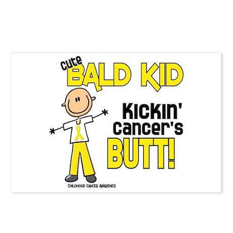 Bald 4 Childhood Cancer (SFT) Postcards (Package o