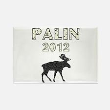 Sarah Palin 2012 Moose Rectangle Magnet