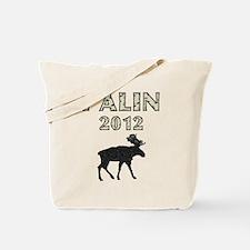 Sarah Palin 2012 Moose Tote Bag