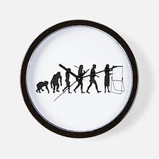 Training Team Leader Wall Clock