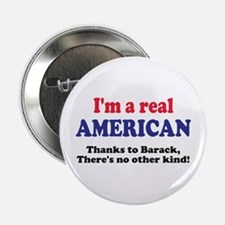 "Real American 2.25"" Button"
