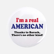 """Real American 3.5"""" Button"""