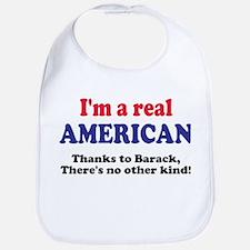 Real American Bib