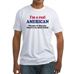 Real American Fitted T-Shirt