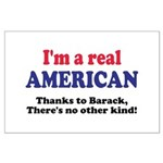 Real American Large Poster