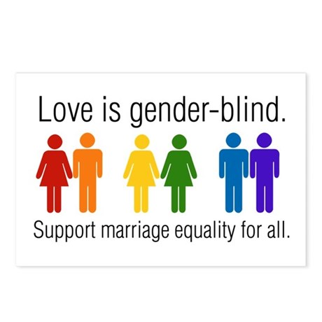 Marriage Equality Postcards (Package of 8)