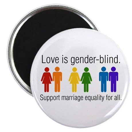 "Marriage Equality 2.25"" Magnet (100 pack)"