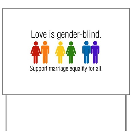 Marriage Equality Yard Sign