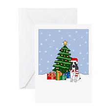 English Springer Holiday Greeting Card