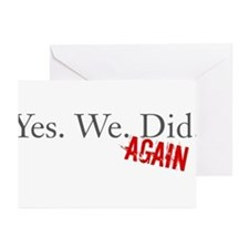 Yes We Did Greeting Cards (Pk of 10)
