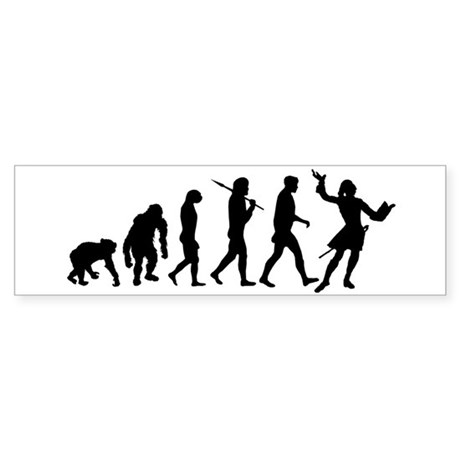 Evolution of Acting Sticker (Bumper 10 pk)