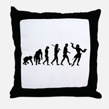 Evolution of Acting Throw Pillow