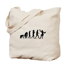 Evolution of Acting Tote Bag