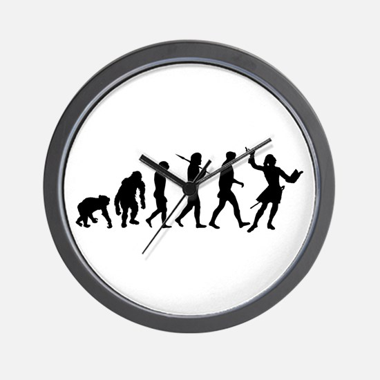 Evolution of Acting Wall Clock