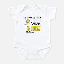 Bald 5 Childhood Cancer (SFT) Infant Bodysuit
