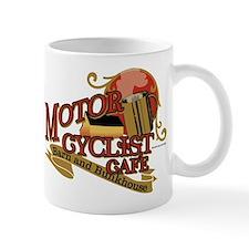 Motorcyclist cafe barn & bunk Mug