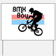 1980s BMX Boy Yard Sign