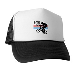 1980s BMX Boy Trucker Hat