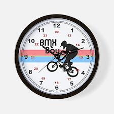 1980s BMX Boy Wall Clock