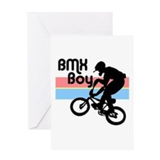 1980s BMX Boy Greeting Card