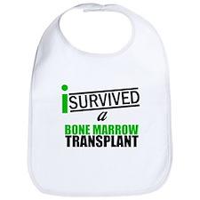 I Survived a Bone Marrow Transplant Bib