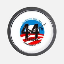 Unique 44th president Wall Clock