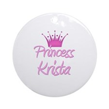 Princess Krista Ornament (Round)