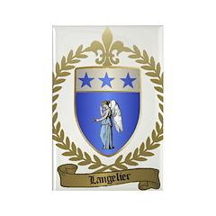 LANGELIER Family Rectangle Magnet