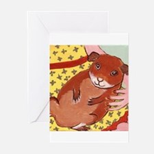 guinea_pig_q002 Greeting Cards (Pk of 20)