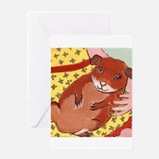 guinea_pig_q002 Greeting Card