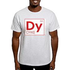 DYKE Ash Grey T-Shirt