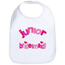 Pink Kiss Junior Bridesmaid Bib