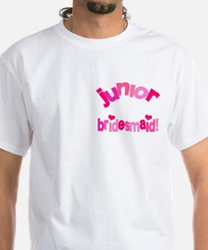 Pink Kiss Junior Bridesmaid Shirt