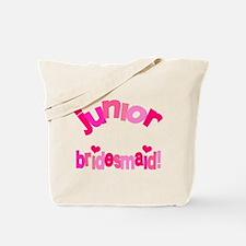 Pink Kiss Junior Bridesmaid Tote Bag