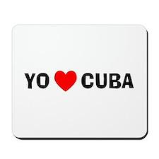 Yo Amo Cuba Mousepad