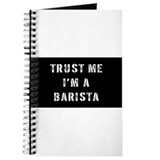 Barista Journals & Spiral Notebooks