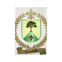LANOUETTE Family Rectangle Magnet (100 pack)
