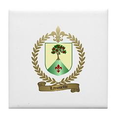 LANOUETTE Family Tile Coaster