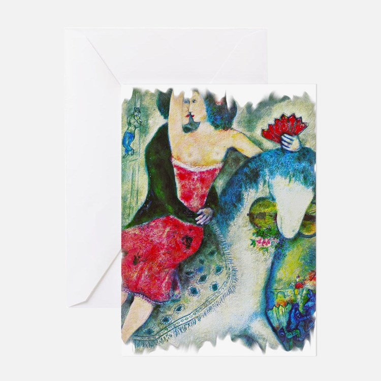 Cute Fauvism Greeting Card