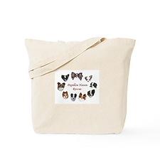 Cute Papillon Tote Bag