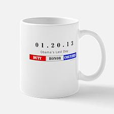 1.20.13 - Obama's Last Day Mug